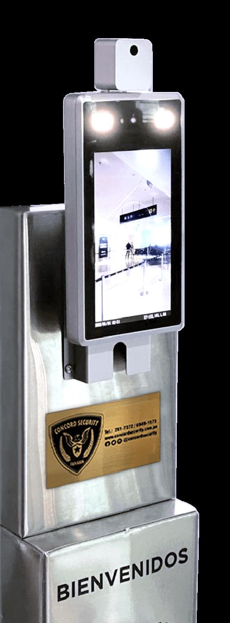 Terminales de Reconocimiento Facial y Control de Temperatura